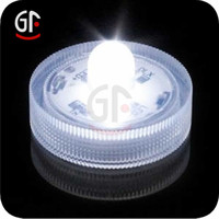 CR2032 battery operated Led Flashing Waterproof Submersible Tea Light