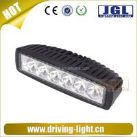 Motorcycle engine parts led light bulb, 18w led work light bar, led lamp