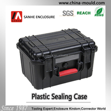 Heavy duty hard plastic waterproof equipment case
