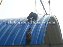 steel roof arch building machine
