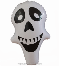 halloween party supplies PVC inflatable skull