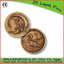 Wholesale price custom quality round challenge coin.