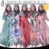 MD 69160 Wholesale elegant design muslim long sleeve jalabiya kaftan dresses High quality jalabiya magrabi dubai jalabiya kaftan