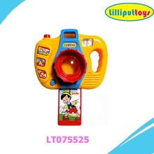 Promotional battery operated cartoon camera toy