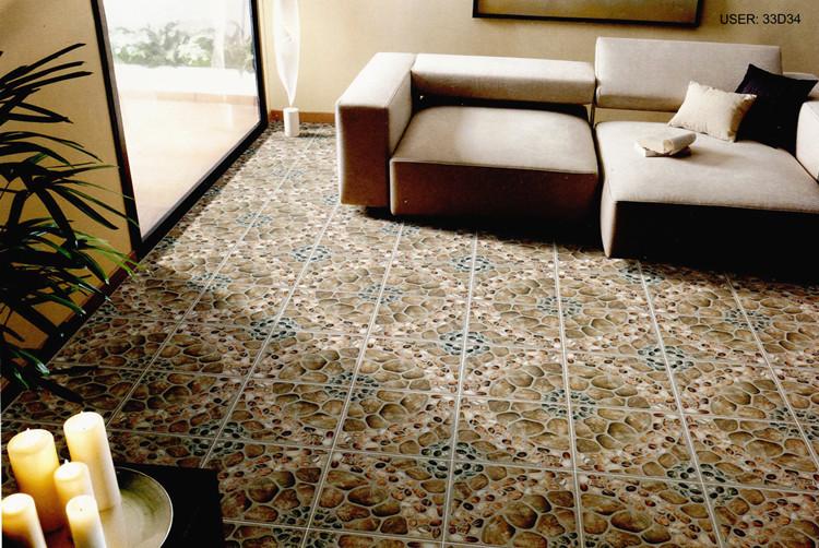 300x300mm foshan imitan piedras antideslizante suelo de - Baldosas exterior antideslizantes ...