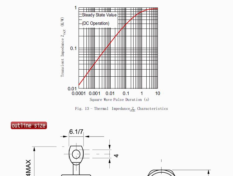 export type rectifier diodes 40hf r  export type rectifier