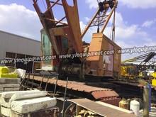Manitowoc 4100W 230 ton lattice boom used crawler crane