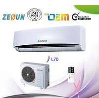 Air Conditioner Split Unit AC Cooler only Wall Mounted Air Conditioner R22 9000btu 220-240V 50Hz (ESK)