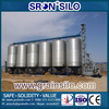 China Leading Manufacturer , Safety Guarantee Hot Galvanized Grain Silo 500t for Sale