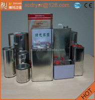 oil round metal cans with high quality