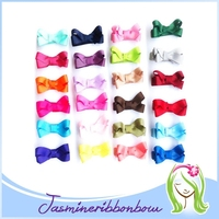 Mix color baby hair clip,solid bow ribbon for baby girl,kid hair accessory