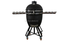 cast iron top bbq kamado grill