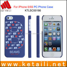 Custom Design Silkprint Mobile Phone Cover for iPhone 5S