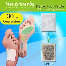 La esencia de la naturaleza cuidado de los pies desintoxicar el cuerpo para dormir& relajarse del pie del detox parche masaje