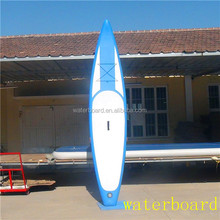 cheap blue longboard surfboard made in China