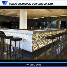 2015 Hot Sale Acrylic Solid Surface Cheap Bar Furniture,The Bar Counter,Coffee Shop Bar Table And Chair