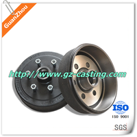 2015 Alibaba Guanzhou casting foundry OEM&customized ISO 9001:2008 certificated ASTM A536 cast iron wheel hub iron casting