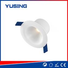 Fashion design PF0.5 175-265V white plastic gimbal LED downlight 5w down light bedding wholesale