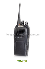 Cost-efficient Hytera Wide-band Coverage powerful 1W Analog Two Way Interphone TC-700