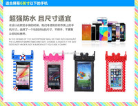 NEW AND FASHION CARTOON WATER PROOF CELL PHONE CASE FOR IPHONE 5 AND 6 AND 6PLUS AND SAMSUNG
