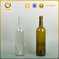 Factory free sample Bordeaux Screw cap wine bottle prices