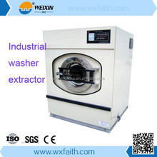 Electric Steam Heating industrial washing machines and dryers