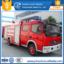 Manual transmission type and New Condition 5m3 inflatable fire truck price