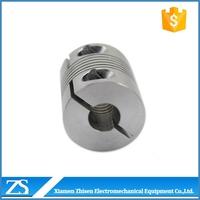 transmission helical flexible spring shaft coupling