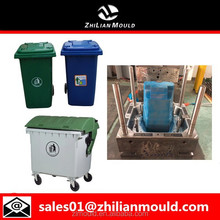 high quality plastic garbage bin/dustbin/trash bin mold in taizhou