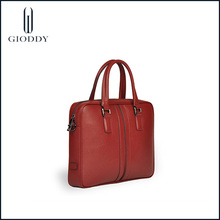 Nueva moda venida de mango de madera roja de compras bolsos del desinger
