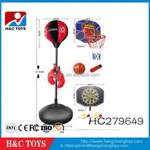 3 in 1 sport toys of basketball&target&boxing HC279649
