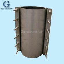 Stainless steel repair clamp in pipe fittings