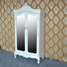 Decorative modern bedroom furniture distressed wood armoire with door design