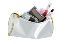 Make Up Bag rolling cosmetic train case