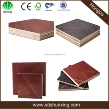 Good quality, cheap price WBP melamine mixed hardwood core black film faced plywood