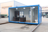 dismountable 20ft container mobile store design