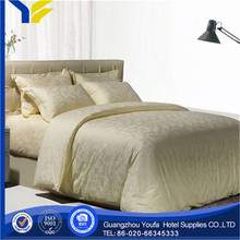 king bed 2014jacquard 100% polyester brushed poly bed sheet
