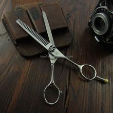 hair scissors teeth 6inch hair cutting thinning scissors