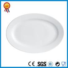 Platos ovales de cerámica