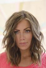 New Fashion Short Natural Wave Human Hair Grey Lace Front Wig