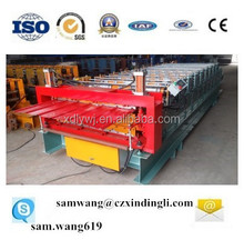 European Standard Double Layer Roofing Panel Roll Forming Machine Building and Construction Equipment