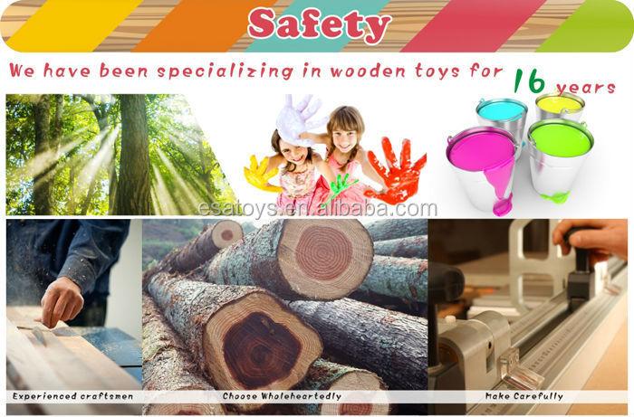 2015 nova wooden toy fingir imã brinquedo para crianças, De madeira bonito finja brinquedo para crianças, Role play toy pretend brinquedo para o bebê wj278667
