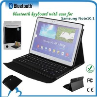 10.1 inch tablet keyboard case micro usb for Samsung Note