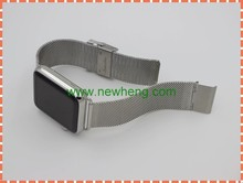 New Listing Metal Stainless Steel Watch Strap Band for Apple Watch Band 38mm 42mm