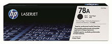 Genuine Black 78A Toner Cartridge - (CE278A)