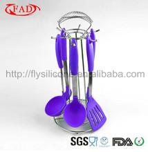 China Shenzhen Manufacturer FDA LFGB grade kitchen utensils brands