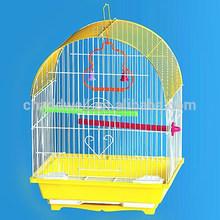 Plegable de alambre de acero de metal jaulas de pájaros, nido de pájaro, la cría de aves de la casa para mannikin