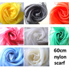 fashion new design plain print cheap neck scarf chiffon scarf for Sprint assorted colors