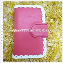 2015 New Products Leather Clutch bag Ladies Purse Phone Wallet for Iphone 6