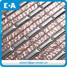 Building Materials List Office Houses Gray Gold Foil Glass Mosaic